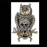 zgmtj Pegatinas de Tatuaje de Tatuaje pintadas a Prueba de Agua ecológicas HB-504 148 * 210MM