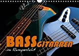 Bassgitarren im Rampenlicht (Wandkalender 2019 DIN A4 quer): Auf jedem Kalenderblatt präsentiert sich ein anderer beliebter E-Bass (Monatskalender, 14 Seiten ) (CALVENDO Kunst)
