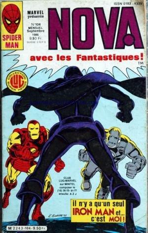 SPIDER MAN [No 104] du 01/09/1986 - NOVA / AVEC LES FANTASTIQUES - IRON MAN