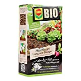 COMPO BIO Hochbeet Langzeit-Dünger für Gemüse, Obst, Kräuter und andere Hochbeet-Pflanzen, 5 Monate Langzeitwirkung, 750 g