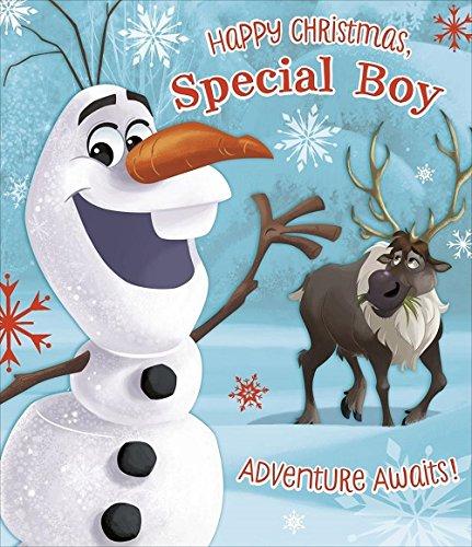 Happy Christmas Frozen Special Boy Weihnachten Karte