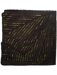 Superfreak® Baumwolltuch mit Gold Lurex°Tuch°Schal°100x100 cm°100% Baumwolle°alle Farben!!!