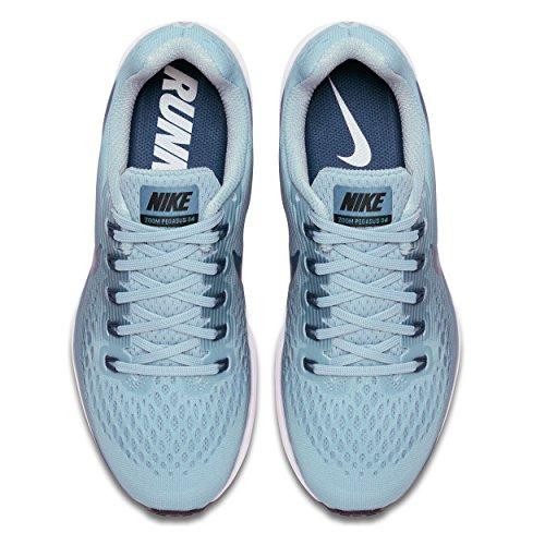 Nike Wmns Air Zoom Pegasus 34, Scarpe da Running Donna Blu (Ocean Bliss/Blue Force/Noise A 408)