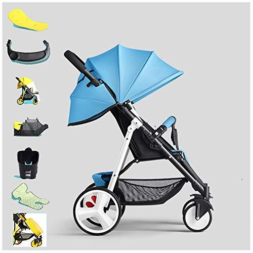Gsdzsy - più leggero passeggino stroller buggy, leggero e pieghevole, facile da usare, con freno, adatto per bambini da 0 a 36 mesi / 20 kg,c