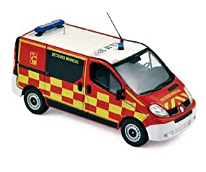 Norev - 518010 - Véhicule Miniature - Modèle À L'échelle - Renault Trafic - Pompier - Echelle 1/43