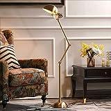 Faker Ldd - Lampada a LED ad Arco, Grande lampadario, Luce Debole e Archi sul Divano del Soggiorno o sul Letto, Braccio Regolabile 47