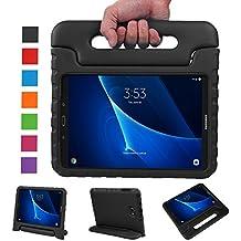 BELLESTYLE Samsung Galaxy Tab A 10.1 Funda- Protector de peso ligero a prueba de golpes Estuche para niños para Samsung Galaxy Tab A 10.1 pulgadas (SM-T580 / SM-T585) Tablet 2016 Release(Negro)