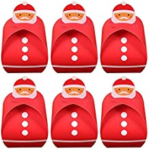 Dahanbl Christmas Theme Paper Gift Candy box cupcake cake Cookies scatole