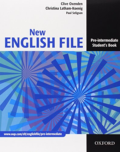 New english file. Pre-intermediate. Student's book-Workbook-My digital book-Entry checker. Con espansione online. Per le Scuole superiori. Con CD-ROM