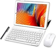 Tablet 10 Pulgadas YOTOPT, 4GB de RAM y 64 GB de Memoria 4G LTE Tableta Android 9.0 Certificado por Google GMS Dobles...