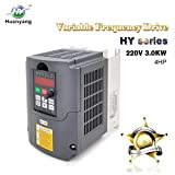Frequenzumrichter (VFD),Computerized Numerical Control (CNC), der Motor Inverter Konverter 220V 3.0KW 4HP für Spindelmotor, Kontrolle der Geschwindigkeit, Huanyang HY –Serie (220V,3.0KW).