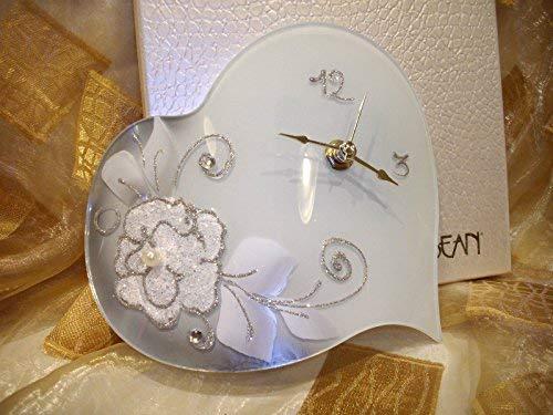 L'angolo barletta orologio bomboniera utile moderna matrimonio comunione battesimo stock