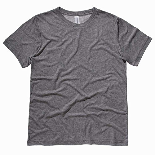 Bella CanvasHerren T-Shirt Grey Triblend