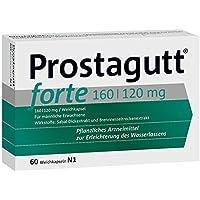 Preisvergleich für Prostagutt forte Spar-Set 3x60 Kapseln. Hilft effektiv und schonend gegen BPH bedingte Prostatabeschwerden.