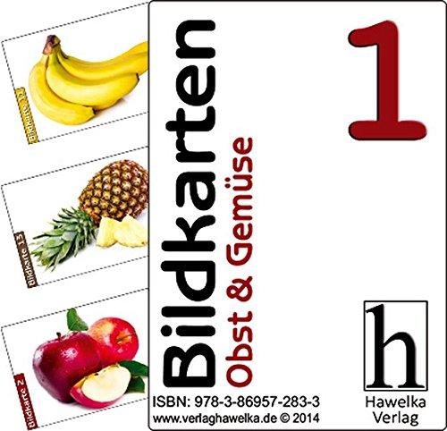Bildkarten 1 (50 Aktivierungskarten zu Obst und Gemüse) für Demenzkranke