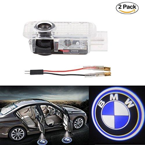 Neu 2 x Logo Projektion Licht Einstiegsbeleuchtung Türbeleuchtung Willkommen Licht Autotür Logo(Weiß) Für E90 E91 E92 E93 M3 E60 E61 F10 F07 M5