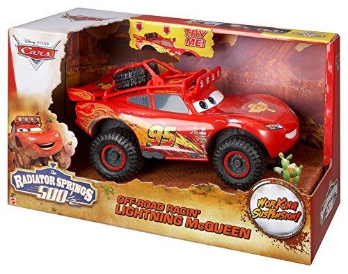 Image of Disney Cars Off Road Racin' Lightning McQueen Toy