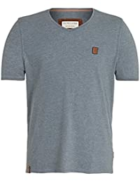 NAKETANO Dachrinne T Shirt for Men Grey Planet Sports