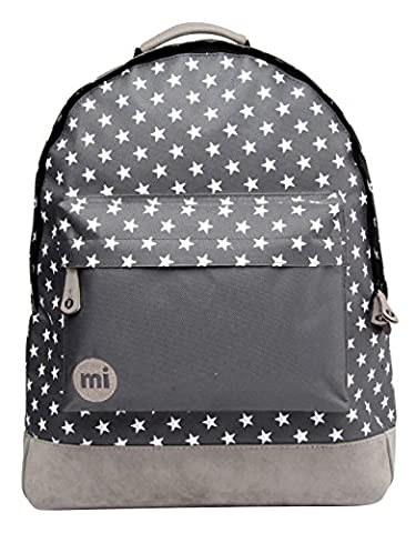 Mi-Pac All Stars Solid Pocket Rucksack - Charcoal, 17 Litres