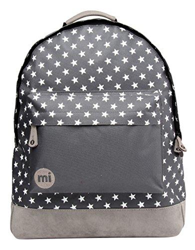 mi-pac-all-stars-solid-pocket-rucksack-charcoal-17-litres