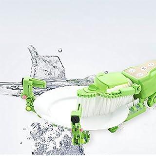QJSZ Tragbare Handheld Intelligente Spülmaschine Home Küche Geschirrspülen Artefakt Mini-Schüssel Waschmaschine Spin Scrubber(Band Intelligente Geschirrspüler Zubehör)