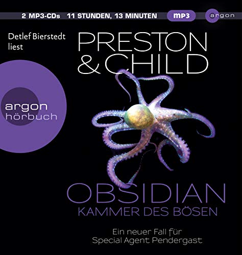 Obsidian - Kammer des Bösen: Ein neuer Fall für Special Agent Pendergast (Ein Fall für Special Agent Pendergast, Band 16)