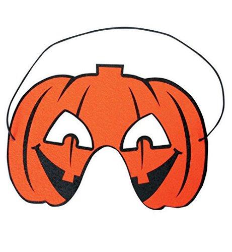 Halloween-Maske Halloween Kürbis Fledermaus Spinnennetz Maske Augenmaske 3 Modelle Fasching (Kostüme Bella Vampir)