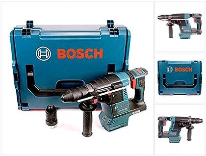 Bosch GBH 18 V-26 F Martillo perforador a batería, profesional, con SDS-plus, en caja L-Boxx, con portabrocas de cambio rápido, sin batería, sin cargador