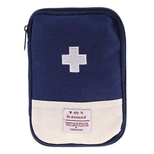 Sharplace Erste Hilfe Tasche, Medizintasche, Reiseapotheke Tasche, Betreuertasche für Outdoor Camping Zuhause - Blau