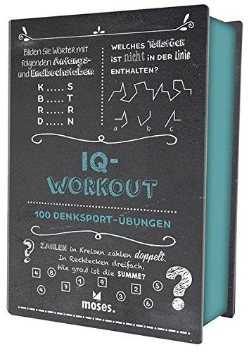 Quiz-Box IQ-Workout: 100 Denksport-Übungen (Quiz-Boxen)