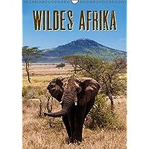 Wildes Afrika (Wandkalender 2016 DIN A3 hoch): Eine bezaubernde Reise durch Afrika. Vom Lake Manyara über die Serengeti bis nach Sansibar (Monatskalender, 14 Seiten ) (CALVENDO Tiere)