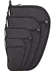 Pistolet Sac d'Armes avec poche extérieure dans différentes tailles, verrouillable