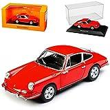 alles-meine.de GmbH Porsche 911 S Coupe Urmodell Orange Rot 1963-1973 1/43 Minichamps Maxichamps Modell Auto mit individiuellem Wunschkennzeichen