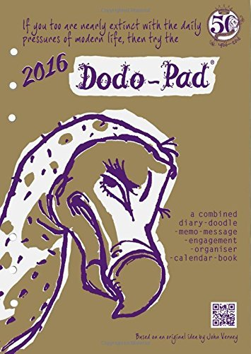 Dodo Pad Filofax-Compatible 2016 A5 Refill Diary - Week to View Calendar Year: A Combined Family Diary-Doodle-Memo-Message-Engagement-Organiser-Calendar-Book by Naomi McBride (2015-06-01)