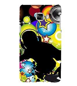 HiFi Designer Phone Back Case Cover Samsung Galaxy C7 SM-C7000 ( Dj Board Player )