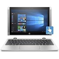 """HP x2 10-p039nf Ultrabook 2-en-1 10"""" HD Tactile Argent (Intel Atom, 4 Go de RAM, SSD 128 Go, Intel HD Graphics 400, Windows 10)"""