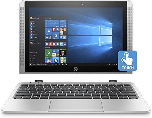 HP x2 10-p038nf PC Portable 2-en-1 10'' tactile Argent (Intel Atom, 4 Go de RAM, SSD 64 Go, Intel HD Graphics 400, Windows 10)