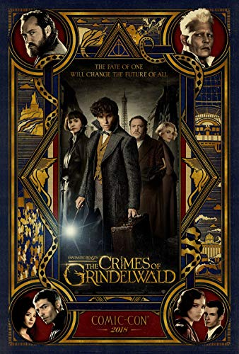 Poster Fantastic Beasts The Crimes of Grindelwald Movie 70 X 45 cm