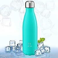 AVOIN colorlife 500ml Bottiglia in Acciaio Inossidabile per Acqua & Drink Definitiva con Isolamento Sottovuoto, Doppia Parete - 24 Ore Freddo & 12 Caldo
