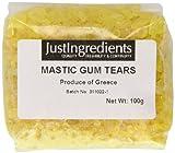 JustIngredients Essential Mastix, Mastic Gum, 1er Pack (1 x 100 g)