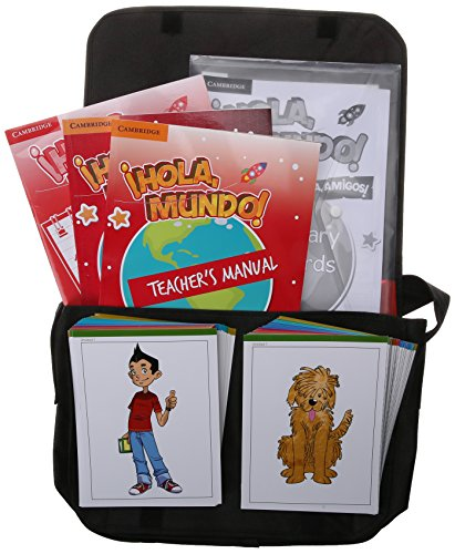 ¡Hola, Mundo!, ¡Hola, Amigos! Level 1 Classroom Pack (Teacher's Manual plus CD-ROM and Audio CD, Class Materials) por María Gómez Castro