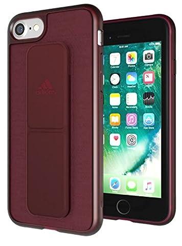 adidas Running - Grip Case iPhone 7 Collegiate Burgundy - Handyhülle iPhone 7 / Smartphone Hülle iPhone 7 - Handy Case, TPU Schutzhülle für Jogging, Fitness & Sport usw.