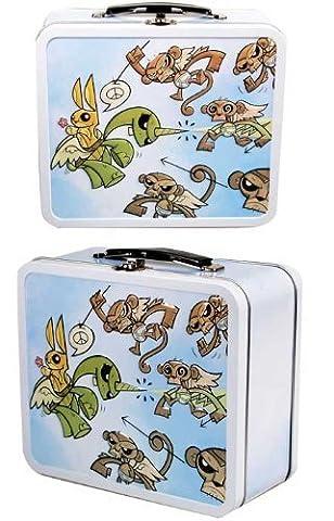 Joe Ledbetter Monkey Madness Tin Lunch Box by Joe Ledbetter