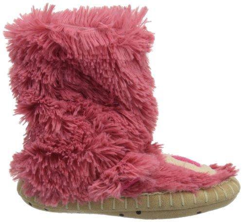 hatley Kids Slouch Slipper Unisex-Kinder Hausschuhe Pink
