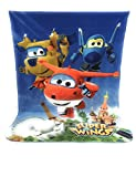 SUPER WINGS Fleece Blanket - fleece blanket - 140x100 cm - Sublimation Double Face 170 g/m2 - superwings