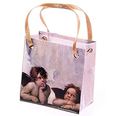 Cherub in Angel Wings Figure in a Bag