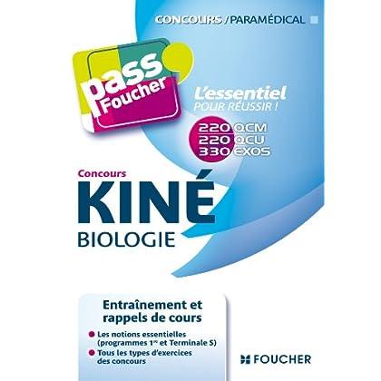 Pass'Foucher - Concours Kiné Biologie