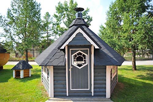 Grillkota, Grillhütte, Gartengrill 9,2 m² inkl. Grillanlage