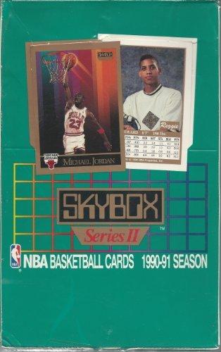 SkyBox 1990-91 Basketball Karten Serie 2Box