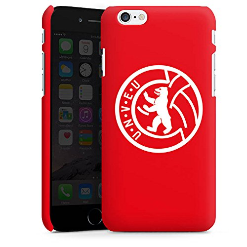 Apple iPhone 6s Hülle Case Handyhülle 1. FC Union Berlin Fußball Fanartikel Premium Case matt